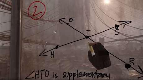VIDEO: Un profesor da clases de geometría a niños en realidad virtual a través del videojuego 'Half-Life: Alyx'