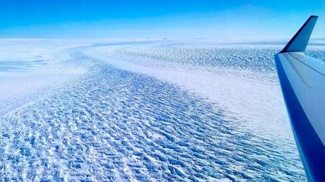 Un glaciar de la Antártida retrocede 5 km y amenaza con una crecida de 1,5 m en el nivel del mar
