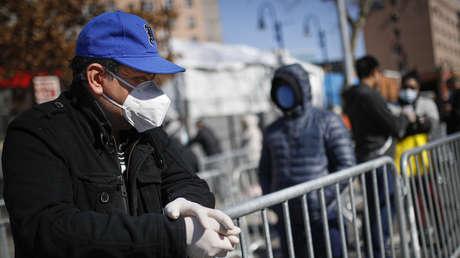 El estado de Nueva York registra 209 muertes por coronavirus en las 24 horas, mientras que el número de casos supera los 50.000