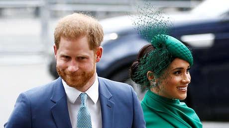 """Trump: """"EE.UU. no pagará por la seguridad del príncipe Enrique y su esposa Meghan"""""""