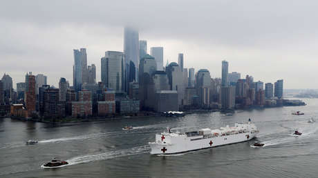 Nueva York reporta 1.218 muertos por coronavirus, y el número de infectados roza los 66.500 casos