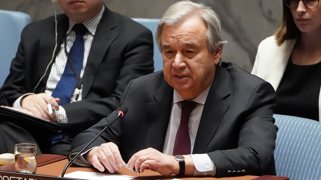 El secretario general de la ONU advierte que el mundo enfrenta su peor crisis desde la Segunda Guerra Mundial