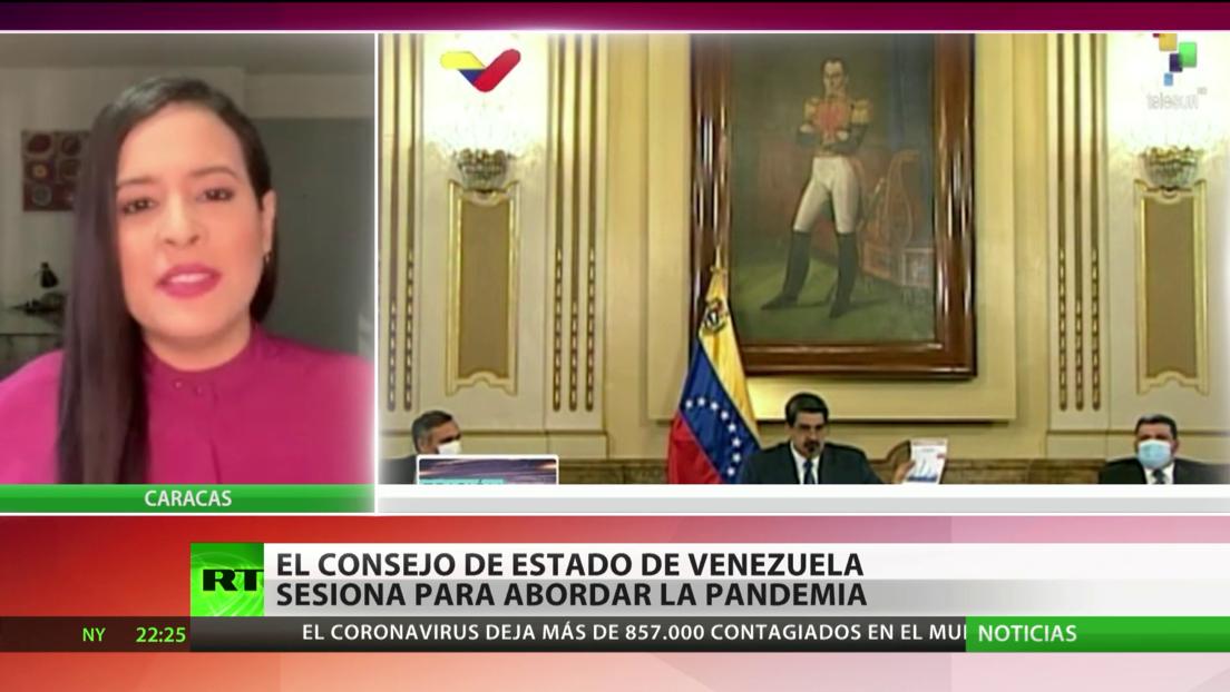 Consejo de Estado de Venezuela aborda medidas ante la pandemia del coronavirus