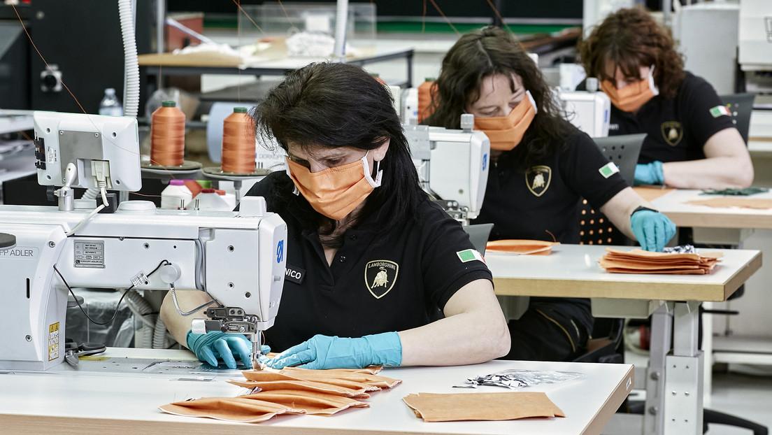 Lamborghini lanza la producción de mascarillas para colaborar en la lucha contra el coronavirus