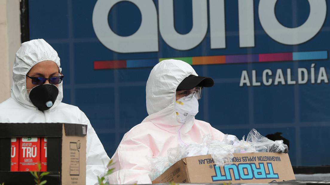 La cifra de fallecidos por coronavirus en Ecuador asciende a 93 y hay 2.748 contagiados