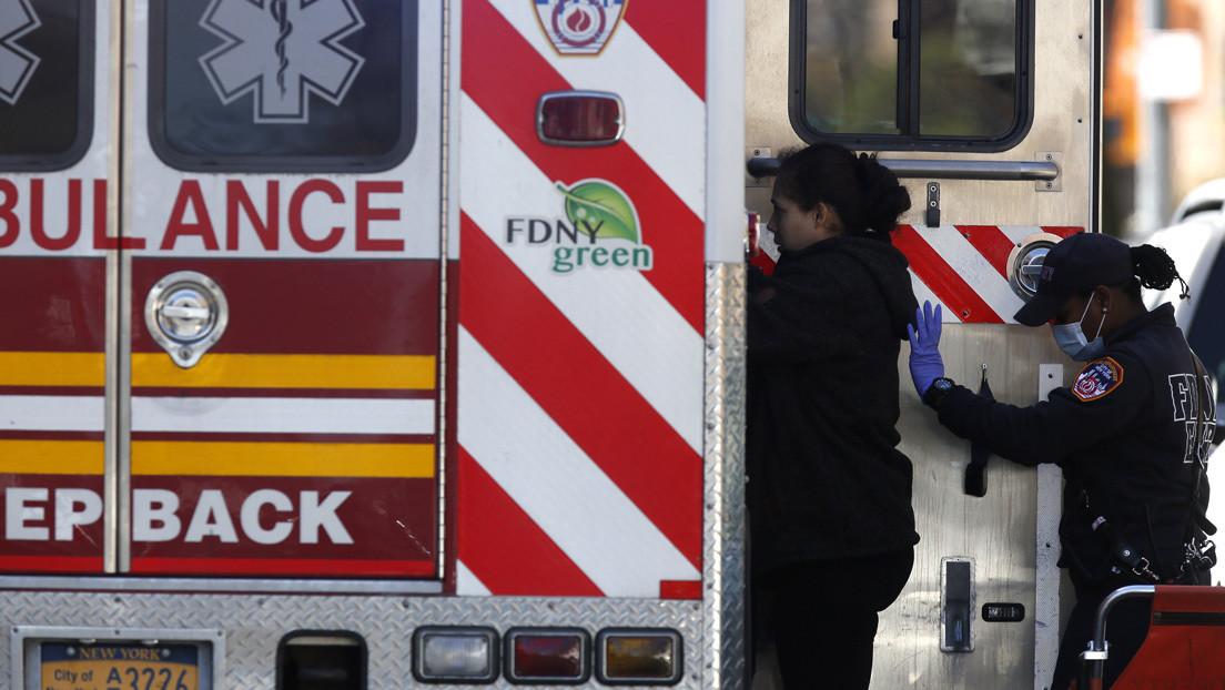 Casi 2.000 muertes por coronavirus en Nueva York