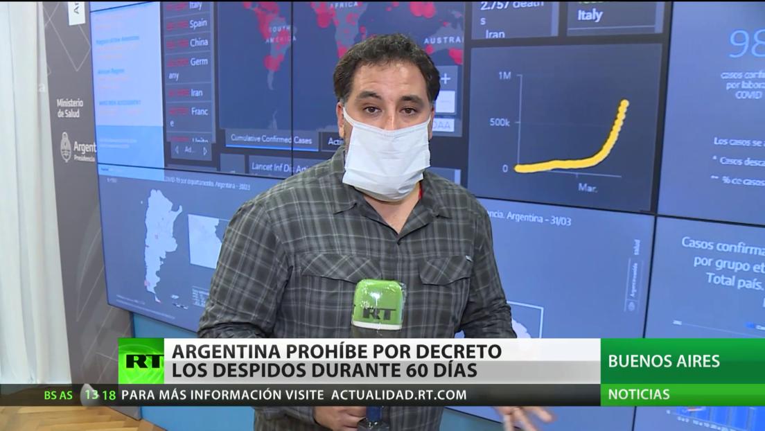 Argentina prohíbe por decreto los despidos durante 60 días