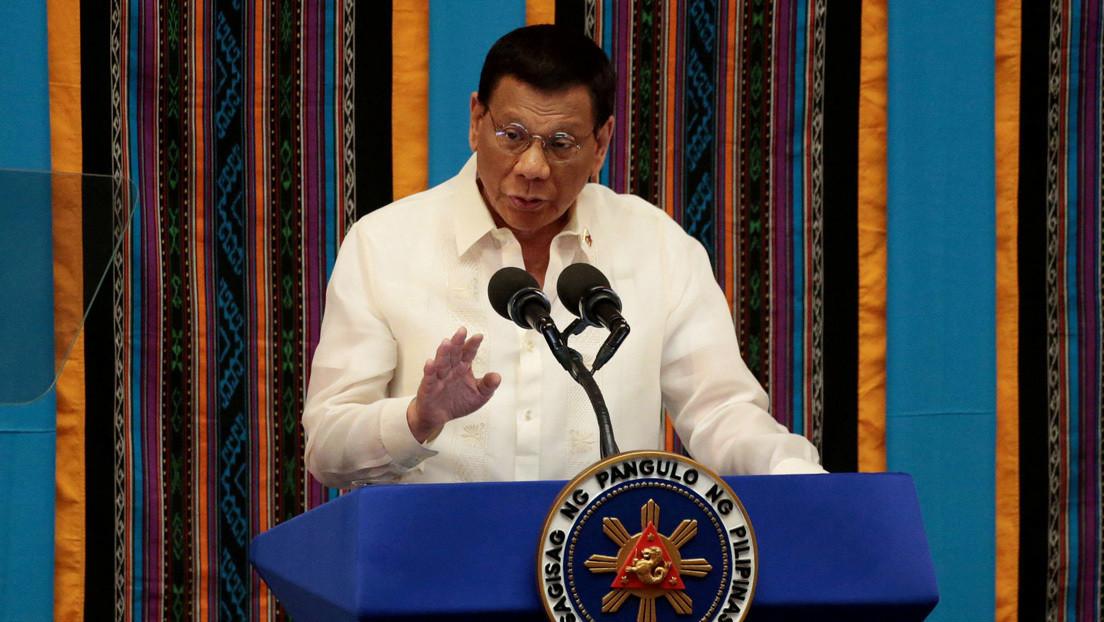 Rodrigo Duterte ordena a la Policía y al Ejército que disparen contra los manifestantes que infrinjan la cuarentena