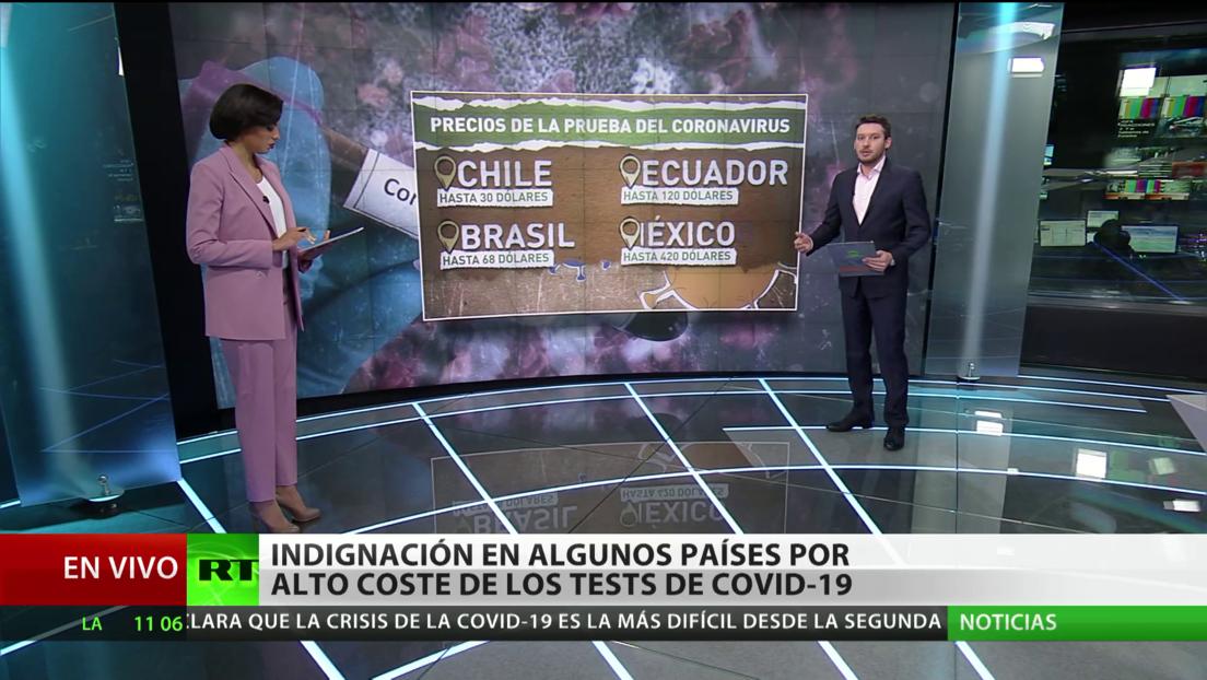 En América Latina crecen los contagios y la necesidad de hacer pruebas de covid-19