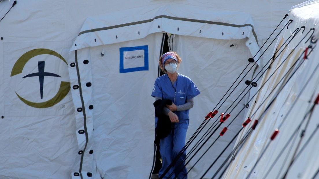 El número de muertos por coronavirus en EE.UU. asciende a 5.100 y los infectados superan los 215.000