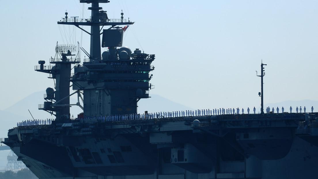 Armada de EE.UU. evacúa a 1.000 militares del portaviones nuclear Theodore Roosevelt con casos de coronavirus a bordo