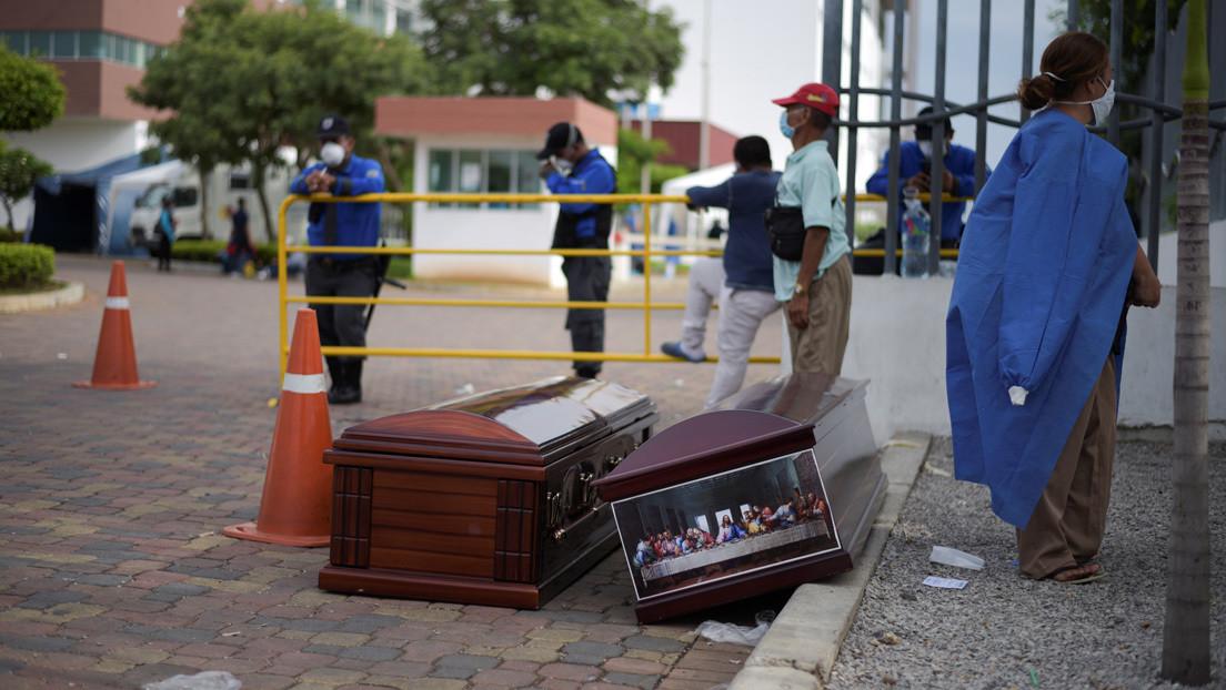 Coronavirus en Ecuador: Moreno pide transparentar cifras, tras el cúmulo de fallecidos y el abandono de cadáveres en las calles de Guayaquil