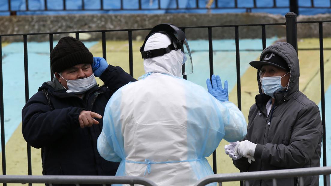 El estado de Nueva York registra 432 muertos y 8.669 nuevos contagios por covid-19 en un día