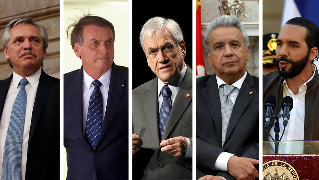 La gestión del coronavirus impacta en la popularidad de los presidentes de América Latina: ¿quiénes son mejor y peor valorados?