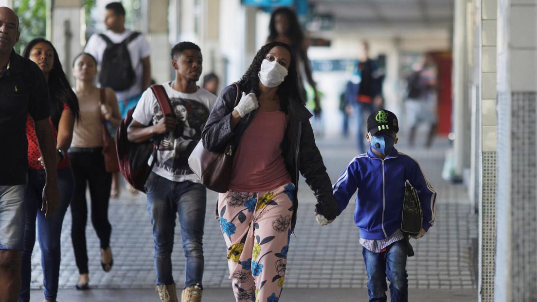 Brasil confirma 299 muertos por coronavirus y el número de contagiados asciende a 7.910