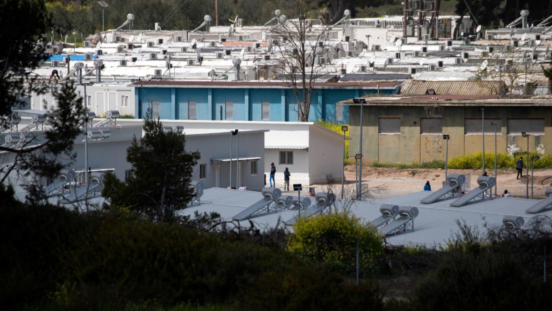 Grecia cierra por cuarentena todo un campo de refugiados con múltiples casos de coronavirus