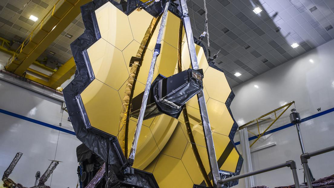 La NASA pone a prueba en gravedad cero el enorme espejo del sucesor del telescopio espacial Hubble (VIDEO)