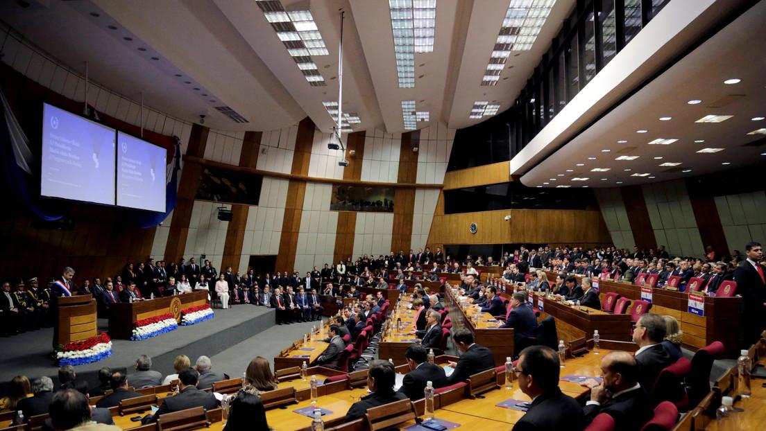 Confirman un caso de coronavirus en el Senado de Paraguay y el cese de las actividades legislativas