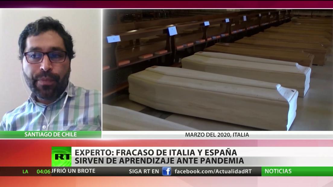 """Experto: """"La demora de Italia y España en responder a la pandemia debe servir de aprendizaje para los demás"""""""