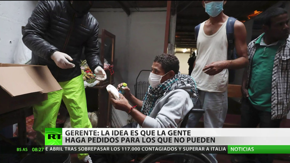 Colombia: Restaurantes lanzan campaña para llevar comida a los más vulnerables por la crisis del covid-19