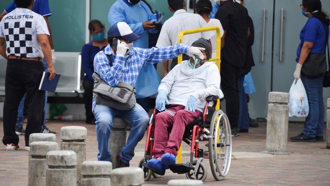 VIDEO: Periodista de Ecuador rompe en llanto en vivo al reportar sobre la situación por el coronavirus