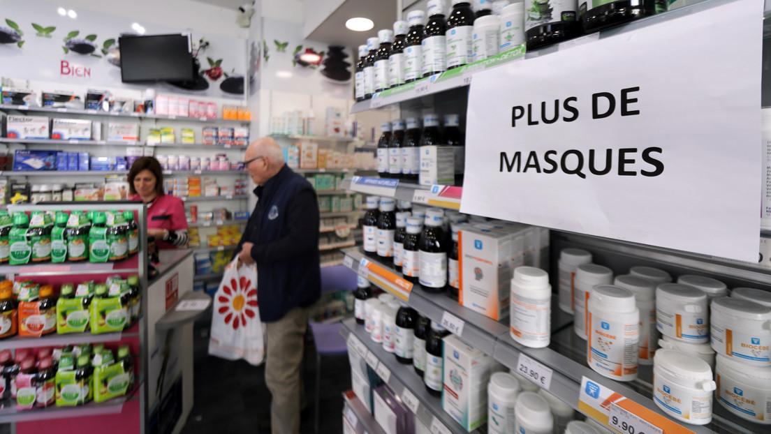 Coronavirus: las farmacias francesas afrontan una oleada de agresiones