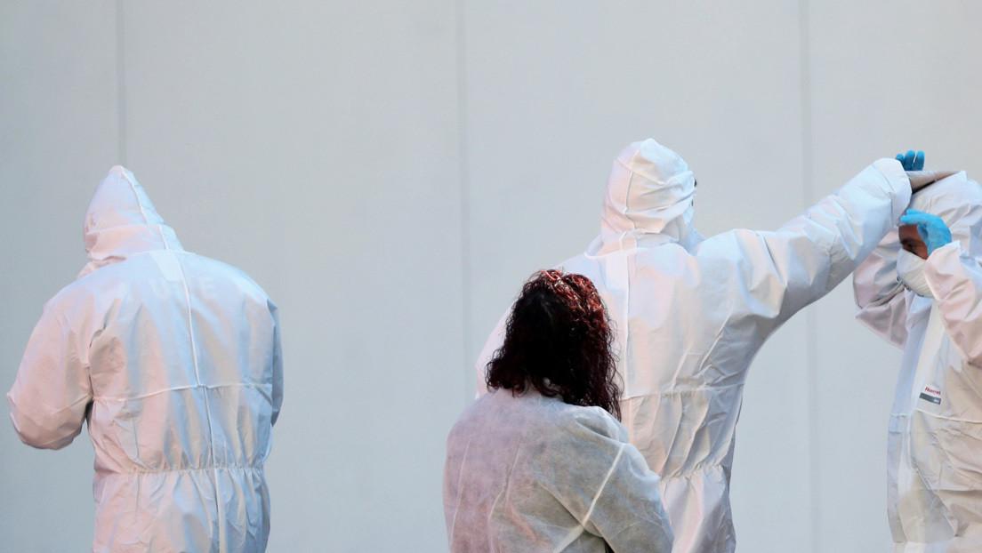 Madrid habilita otra pista de hielo como tercera morgue para los fallecidos por coronavirus