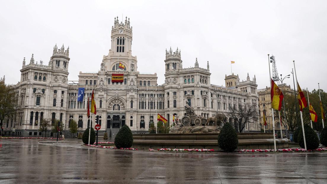 Vida al límite: Así se ve Madrid, la capital del mundo del coronavirus (VIDEO)