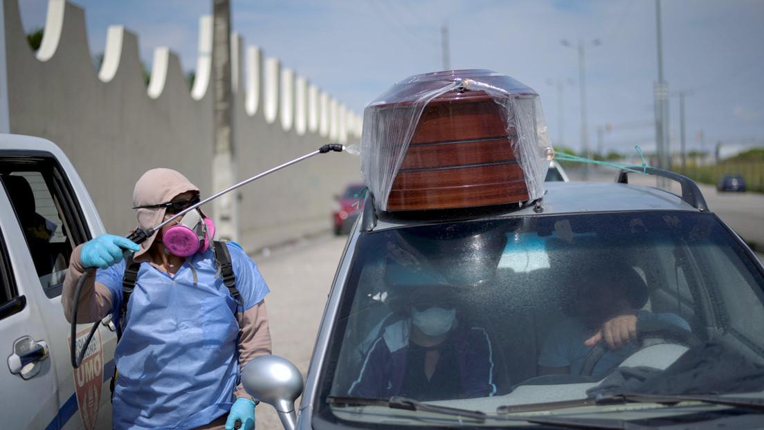 Se eleva a 145 los muertos por coronavirus en Ecuador y ya son 3.368 contagiados