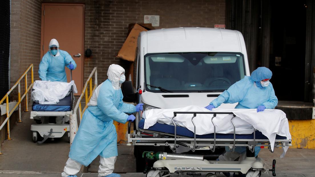 EE.UU. sobrepasa las 7.000 muertes por covid-19