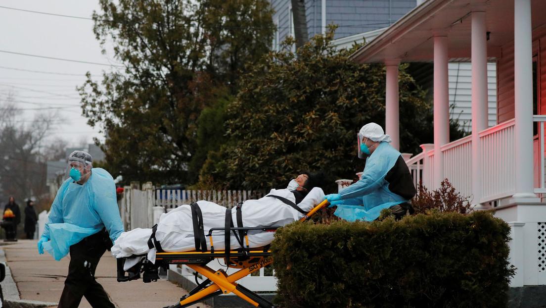 EE.UU. registra un nuevo máximo de más de 1.400 muertos por coronavirus en un día