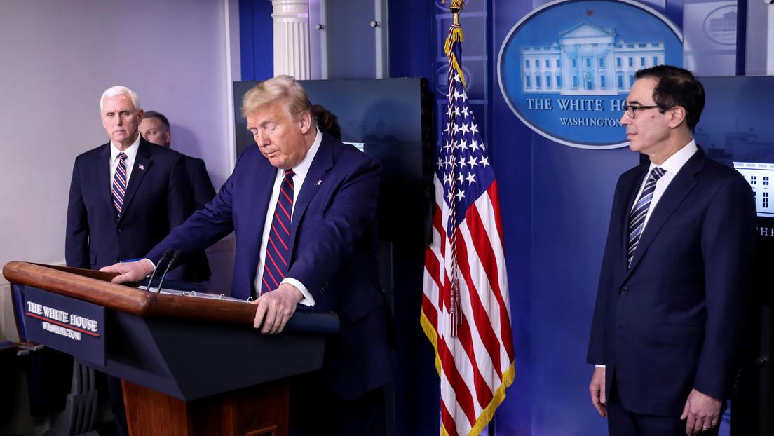 La Casa Blanca exige pruebas de coronavirus a toda persona que tenga contacto con Trump o Pence