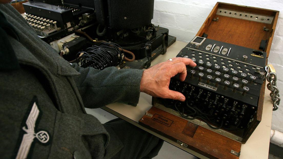 Descubren una rara película de la Segunda Guerra Mundial con imágenes de una base secreta de descifrado de códigos nazi (VIDEO)