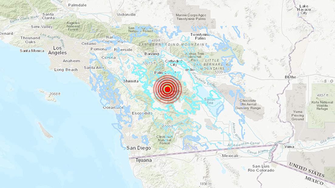 Un sismo de magnitud 4,9 sacude California