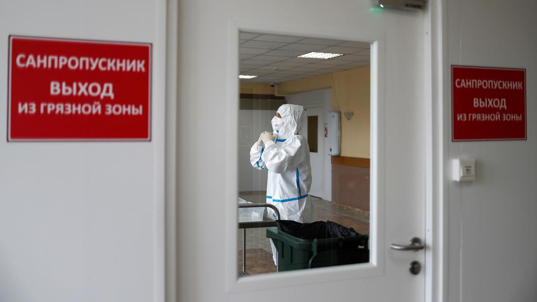 """Rusia: La lucha contra el coronavirus en el país sigue un """"escenario optimista"""""""