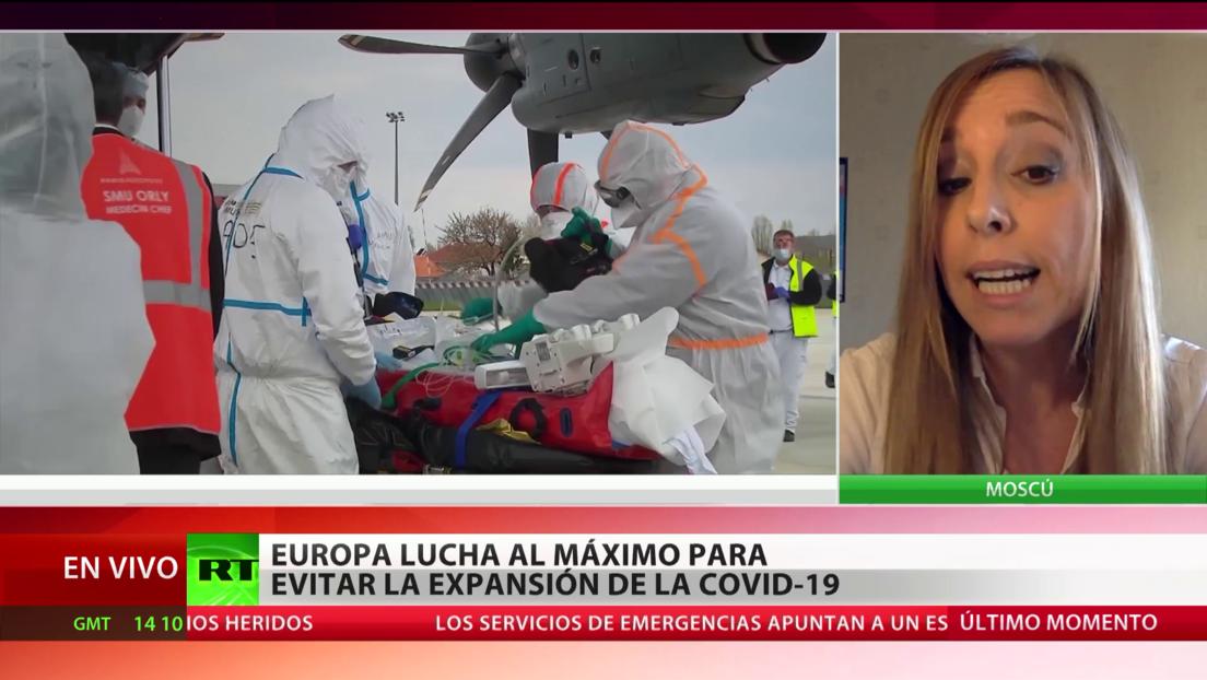 Así combaten Rusia y Europa la pandemia del coronavirus