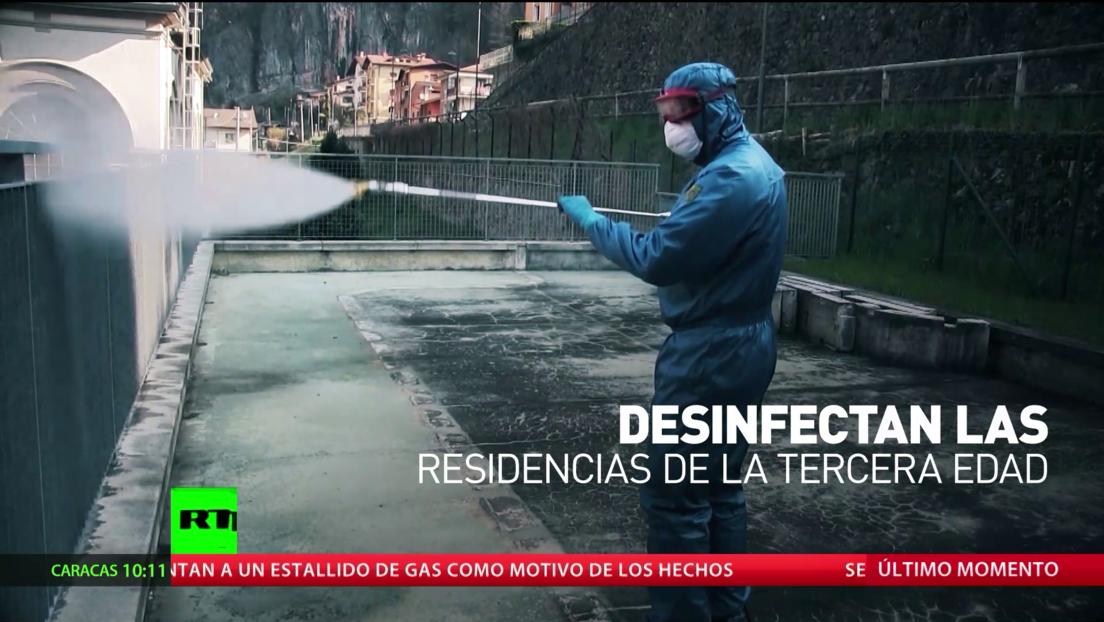 Médicos militares rusos ayudan a Italia y Serbia a frenar la pandemia de covid-19