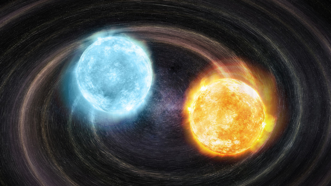 Astrónomos descubren dos enanas blancas que orbitan entre sí cada 20 minutos