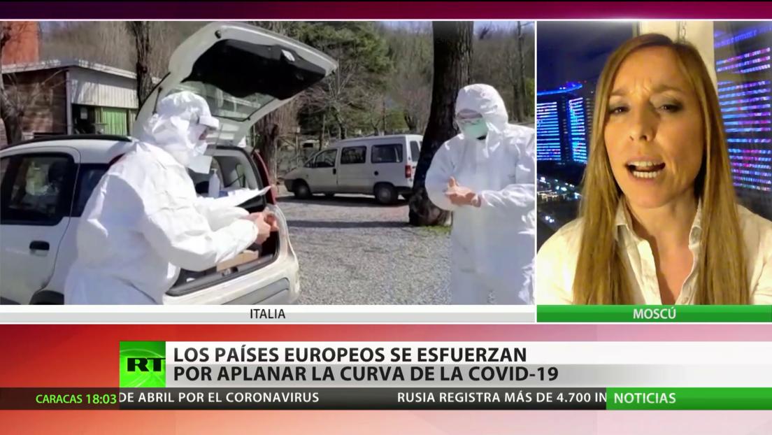 Países de Europa se esfuerzan por aplanar la curva de contagios del covid-19