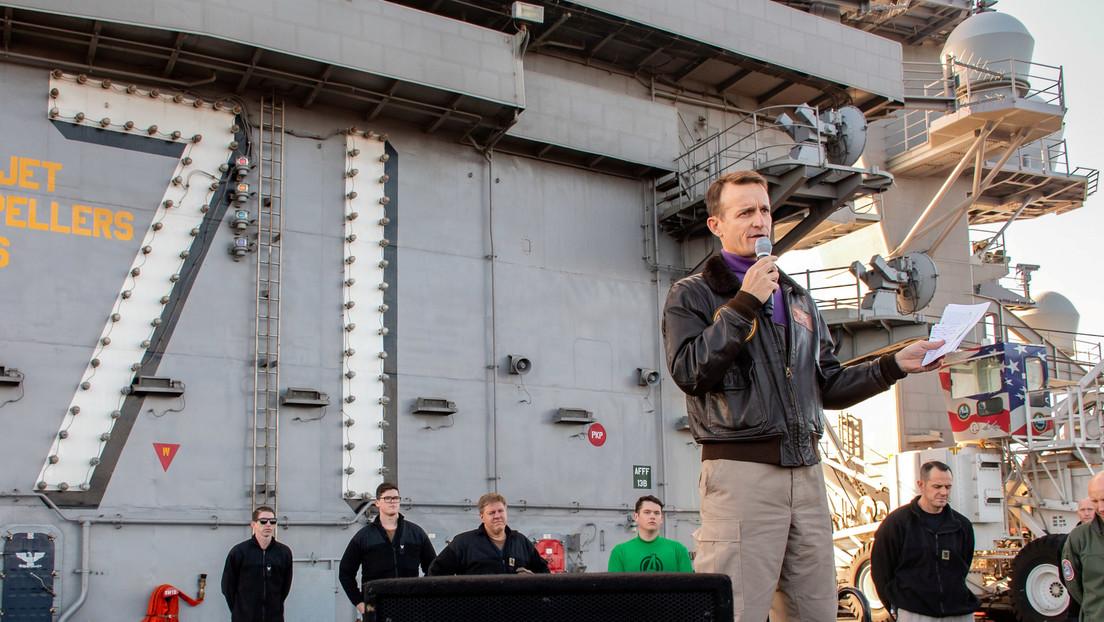 Trump arremete contra el excapitán del portaviones que alertó sobre un brote de coronavirus en su nave
