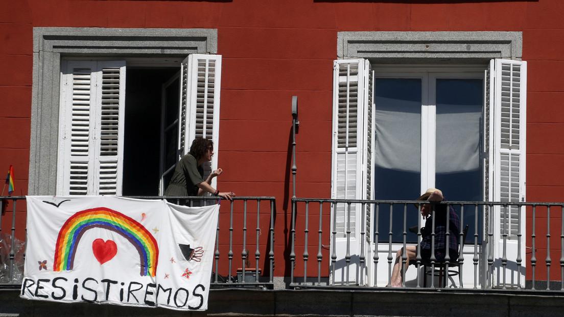 España registra 674 muertes por coronavirus en las últimas 24 horas, la cifra más baja en 10 días