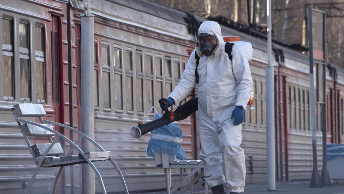 Rusia: 658 nuevos casos de covid-19 elevan a 5.389 el total de infectados