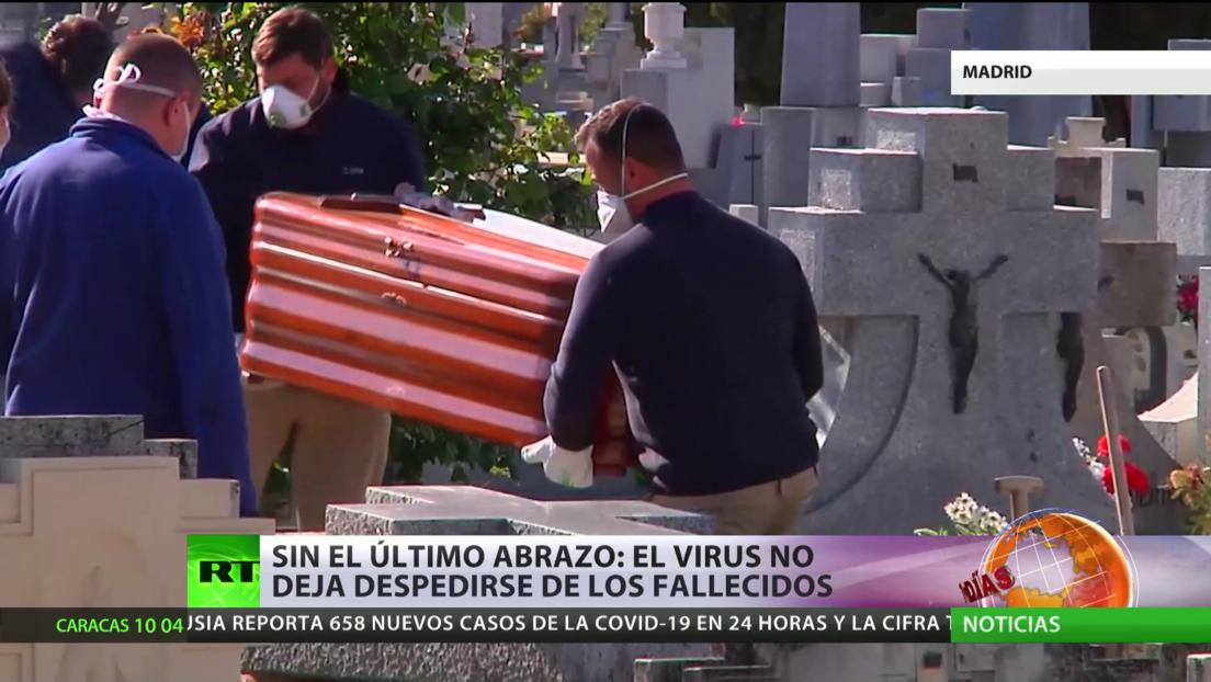 Sin el último adiós: En España el coronavirus no deja a los familiares despedirse de sus fallecidos