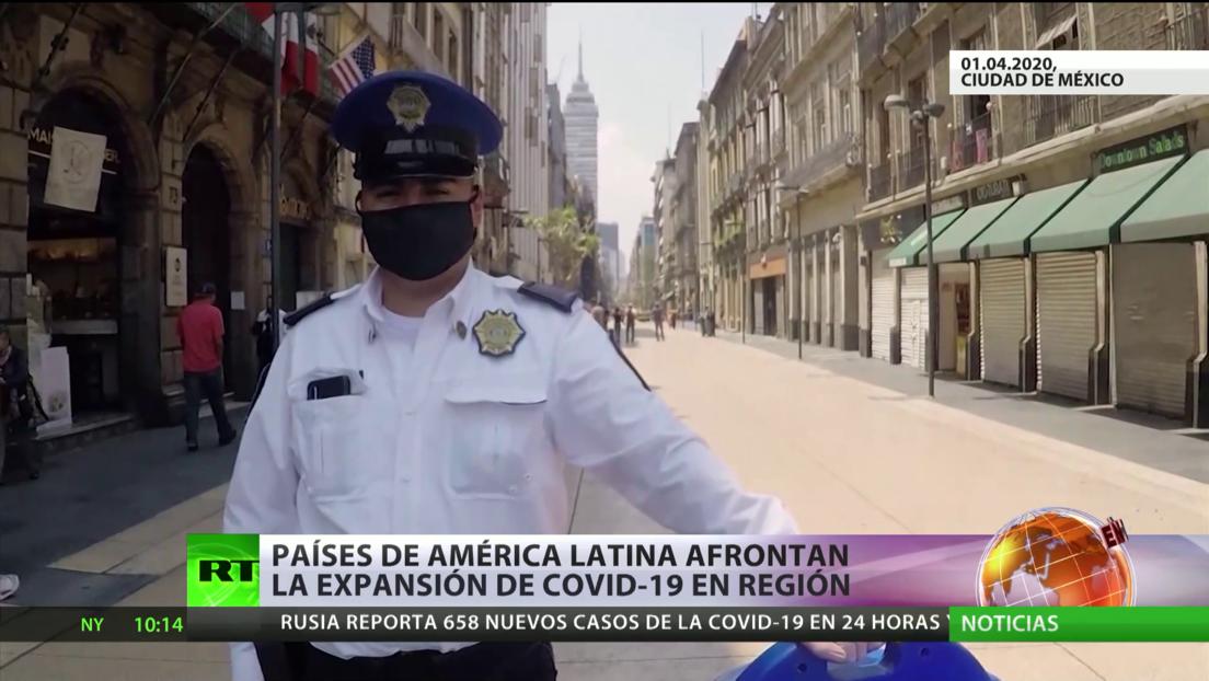 América Latina intenta contener la propagación del coronvirus