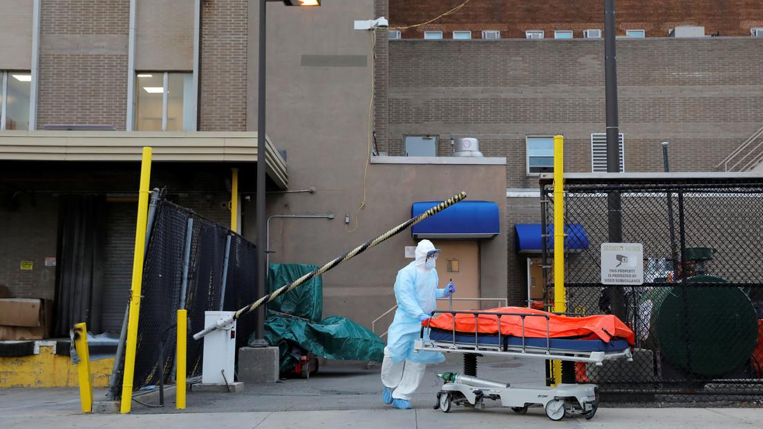 Nueva York registra una ligera reducción de las muertes por covid-19, que ya superan las 4.100