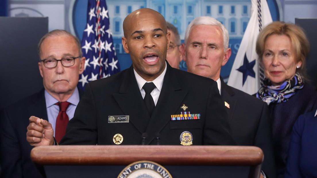 """Director de Salud Pública de EE.UU. advierte al país que esta semana vivirán su """"momento Pearl Harbor y 11 de septiembre"""""""
