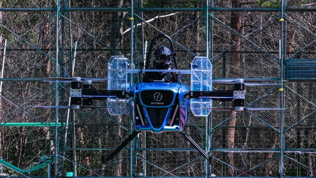 Concluyen las pruebas de vuelo tripuladas del auto volador SkyDrive