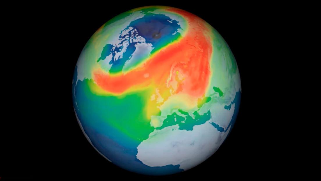 La ESA registra un agujero de ozono jamás visto sobre el Ártico