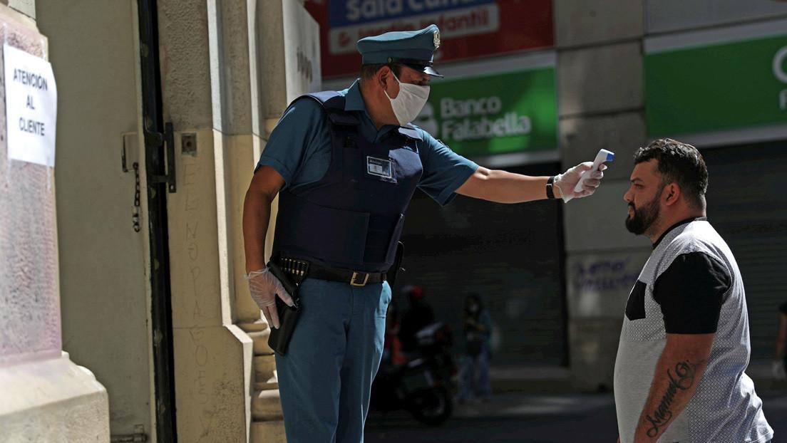 Ascienden a 4.815 los casos de covid-19 en Chile y ya hay 37 fallecidos