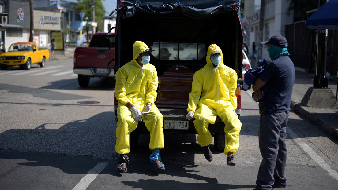 Ecuador registra 3.747 casos de coronavirus y el número de fallecidos se eleva a 191
